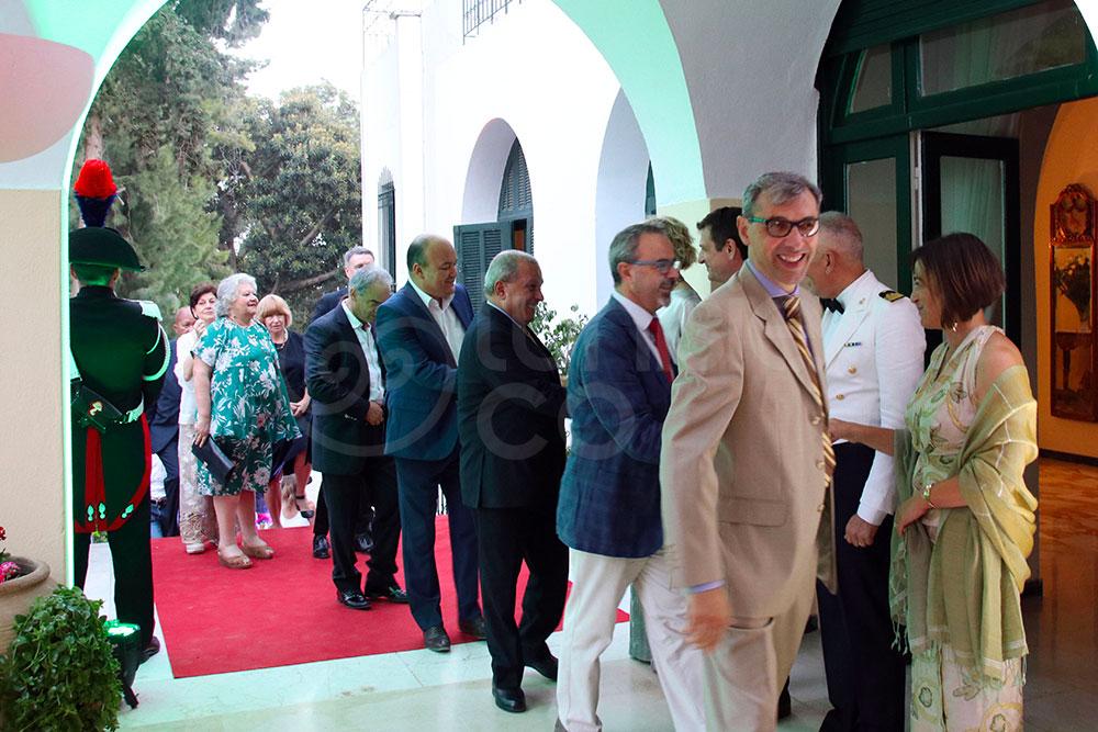 L'ambiance de la Fête de la République Italienne à Tunis