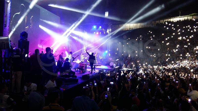 Concert de Saber Rebai à Carthage