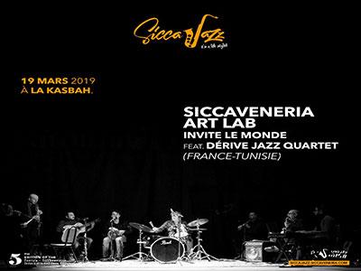 Siccaveneria Art Lab feat Dérive Jazz Quartet à Sicca Jazz