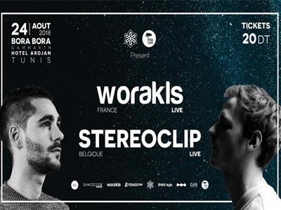 Worakls et Stereoclip live à Gammarth