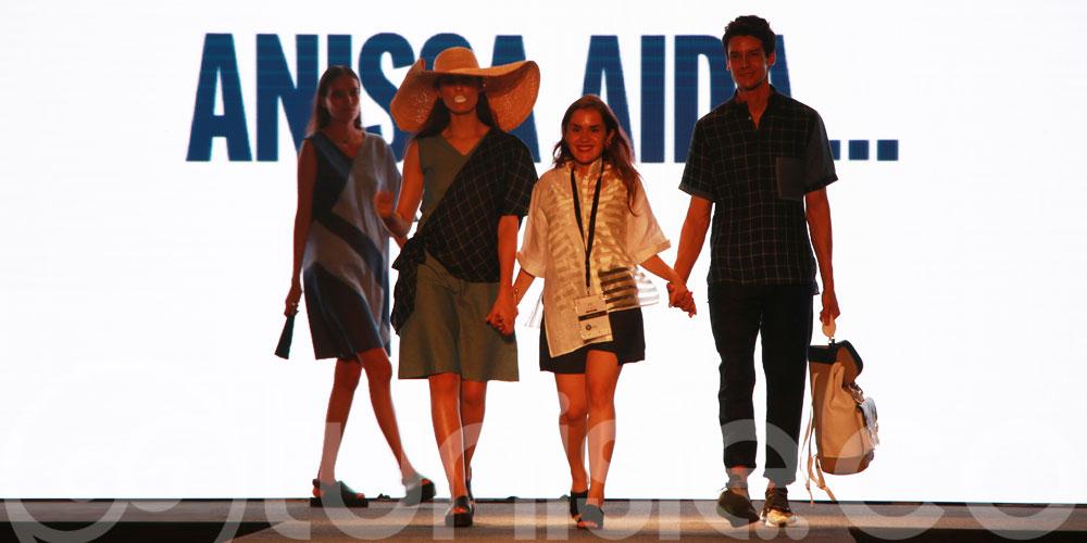 Découvrez les magnifiques créations de Anissa Aida lors de la 1ère édition du défilé Cruise Life Style