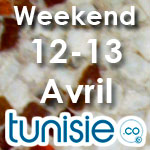 Bons plans sorties pour ce weekend des 12 et 13 avril by Tunisie.co
