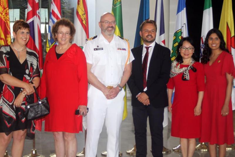 Fête du Canada à Tunis