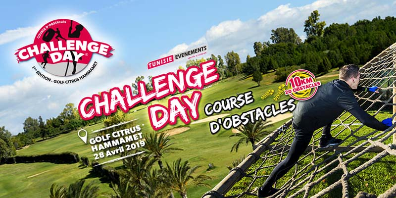 Challenge Day course d'obstacles le 28 avril