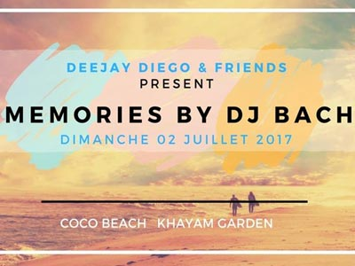 Ouverture du Coco Beach Khayam Garden avec DJ Bach & Deejay Diego