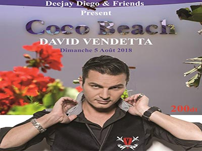 David Vendetta au Coco Beach