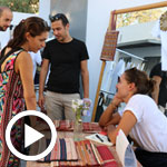 En vidéo et en photos : Ambiance de la 2ème édition d'ELBAZAR le marché de créateurs à L'Agora