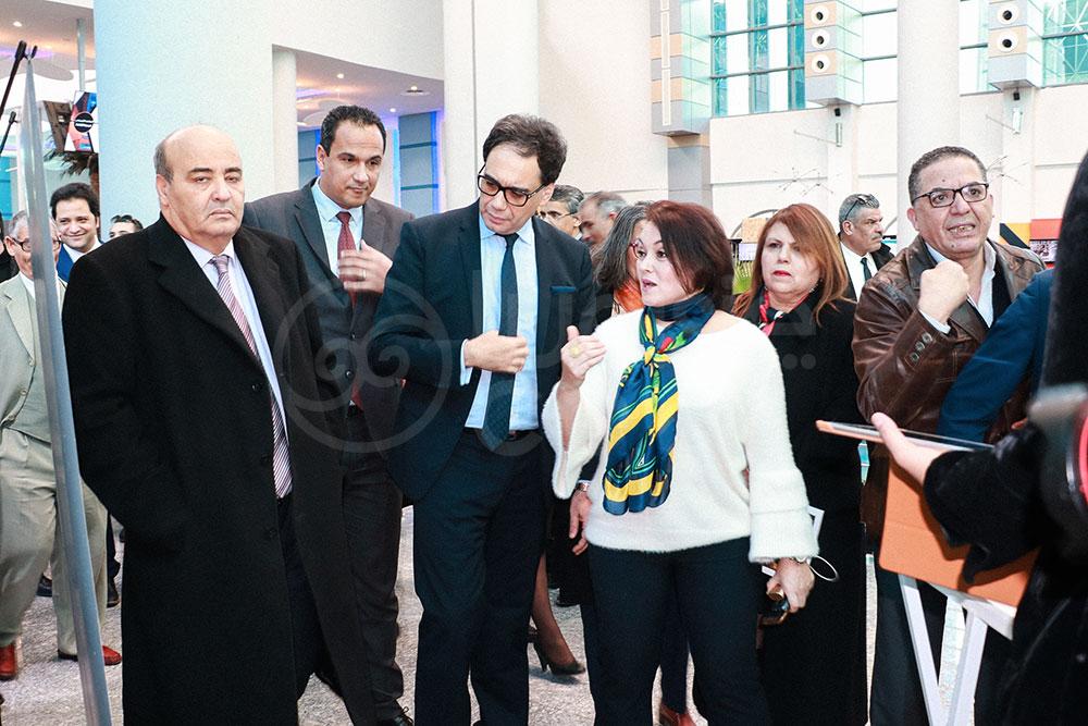 Inauguration du 1er Salon des industries culturelles et créatives