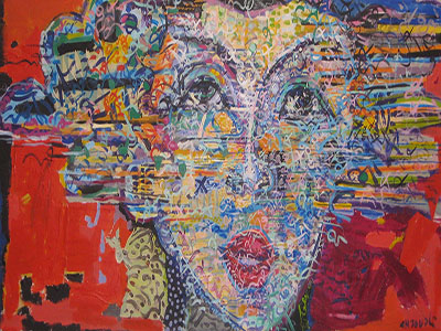 Exposition ELLES d'Amine Chaouali - Galerie Saladin
