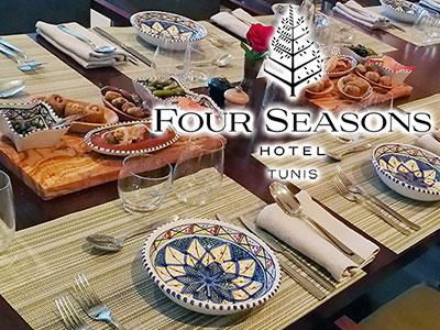 Nous avons testé l'Iftar du Four Seasons Hotel Tunis