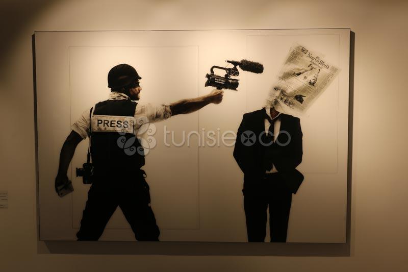 Vernissage de l'exposition collective 'En-quête' à Ghaya Gallery