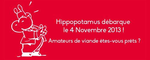 Ouverture du premier restaurant Hippopotamus à Cité Ennasr ce 4 novembre