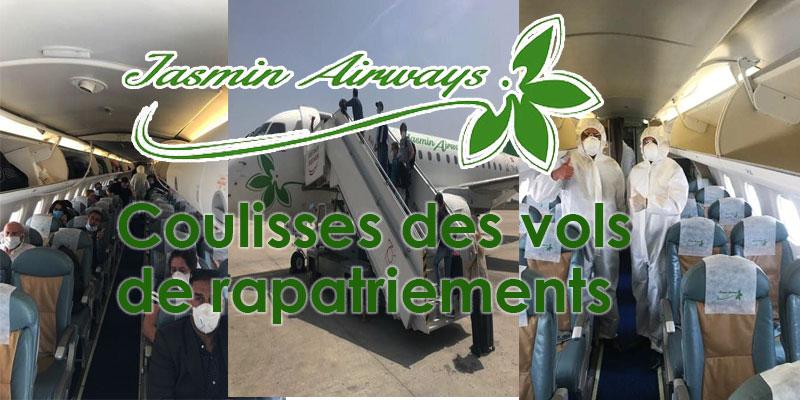Coulisses des vols de rapatriements par Jasmin Airways