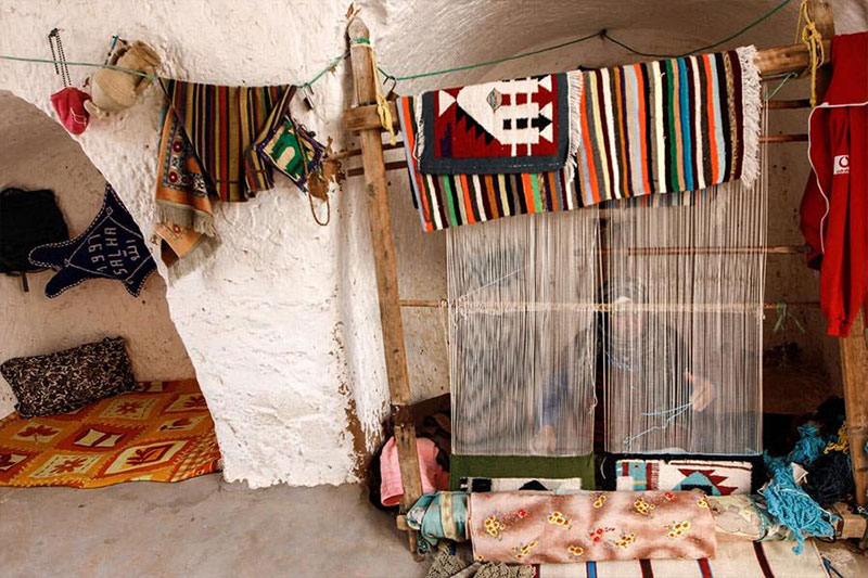 En photos : Découvrez les maisons souterraines de Matmata