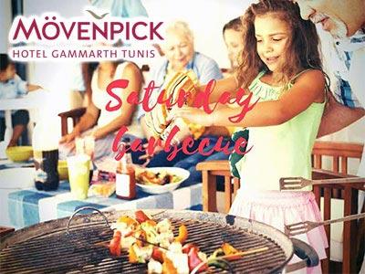 Les 'Saturday barbecue' tous les samedis au Movenpick Gammarth