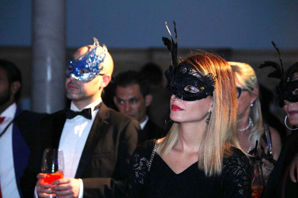 En photos : La soirée Carnaval de Venise du Mövenpick Hotel du Lac Tunis