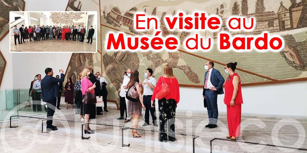 En photos : Les nouveaux ambassadeurs non résidents en Tunisie visitent le Musée du Bardo