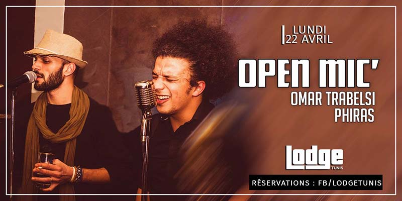 Open Mic' au Lodge _ le 22 avril