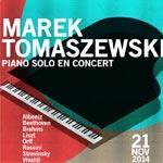Concert du pianiste polonais Marek Tomaszewski le 21 novembre à l'Acropolium de Carthage