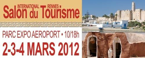 Après Nantes, la Tunisie hôte d'honneur du Salon International du Tourisme de Rennes début mars 2012