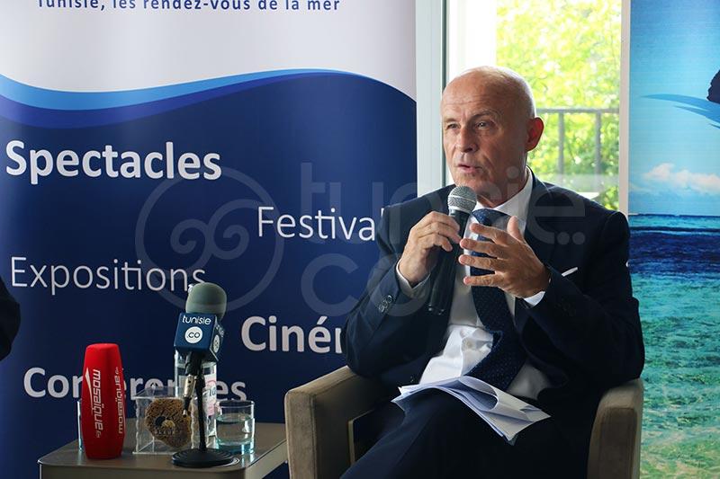 Saison Bleue : En photos, cérémonie de signature des clusters tunisien et français