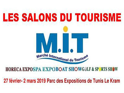 Marché International du tourisme du 27 février au 02 mars 2019