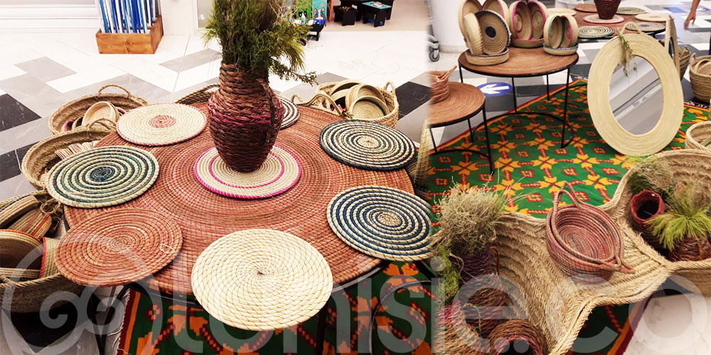 En photos: les artisans de Jbel  Semmama exposent