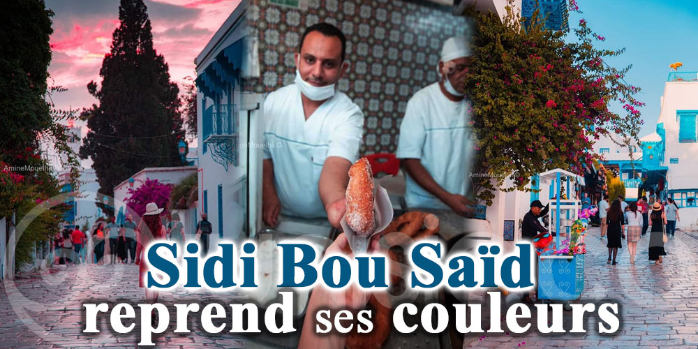 En photos: Sidi Bousaid reprend ses couleurs