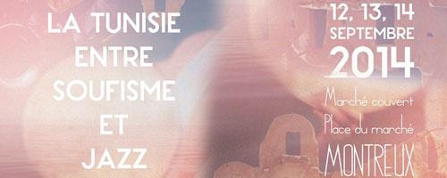 'La Tunisie entre Soufisme et Jazz' les 12, 13 et 14 septembre 2014 en Suisse