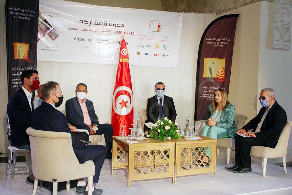 Retour en photos sur le lancement du projet 'Musées pour Tous'