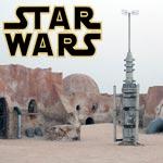Le décor Star Wars ou la science fiction en plein désert de Nefta dans le Sud tunisien