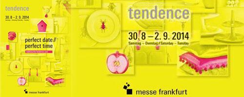 L'Artisanat Tunisien au salon 'Tendence' Messe Frankfurt du 30 août au 2 septembre 2014
