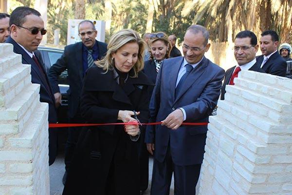 Inauguration du plan de partage des eaux d'Ibn Chabbat à Tozeur