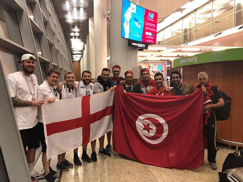التونسيون يبدعون في الترويج الى تونس  في روسيا عبر اللباس التقليدي