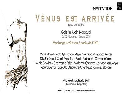 Vénus est arrivée - Exposition collective