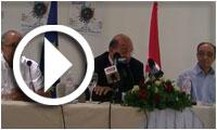 Conférence de presse sur 'Les Journées du Cinéma Européen 2014' en Tunisie