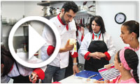 Atelier de gastronomie italienne 'OSPITALITÀ ITALIANA' à l'Espace Zmorda